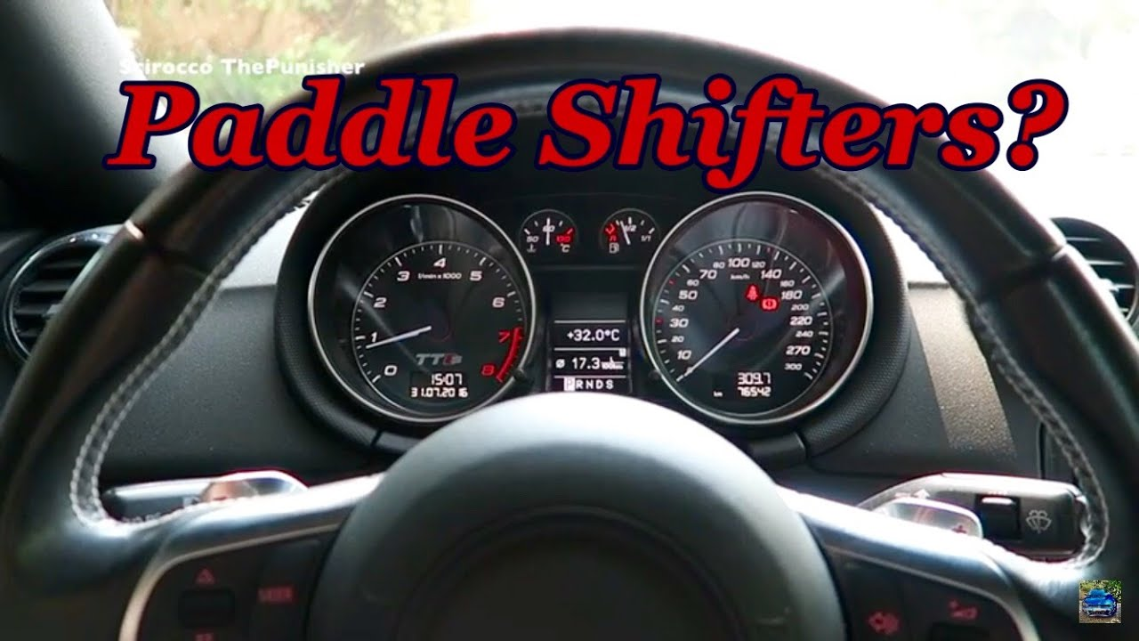 paddle shifters  youtube