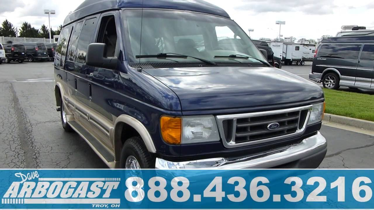 Used 2007 Ford Conversion Van Southern Comfort Hi Top