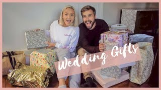 Opening all our WEDDING GIFTS || Mr & Mrs Thomas