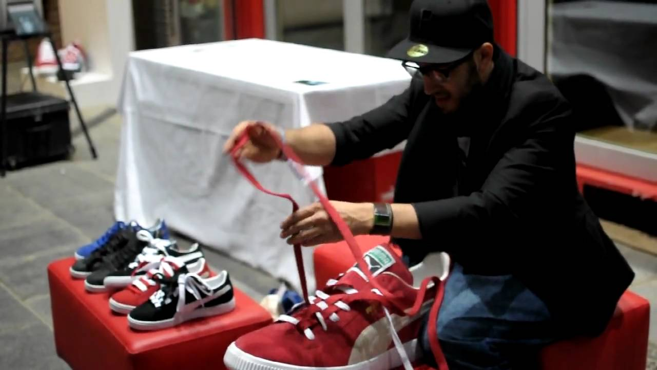 9c3480d75e44 Puma Booth Bread and Butter Berlin Puma Lacing How To - YouTube