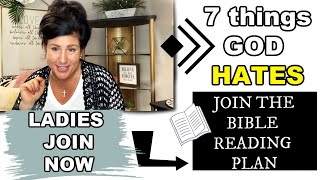WHAT ARE THE 7 THINGS GOD HATES/ JOIN A WOMENS MINISTRY TODAY!
