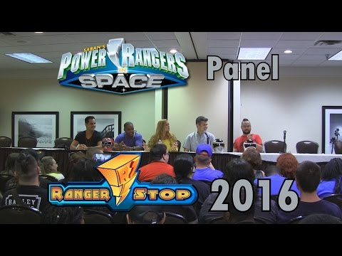 Power Rangers In Space Panel  RangerStop 2016  Christopher Khayman Lee, Justin Nimmo, & More!