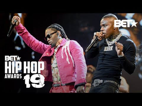 """DaBaby Turns Up & Performs """"Intro"""" & """"Babysitter"""" With Offset!   Hip Hop Awards '19"""