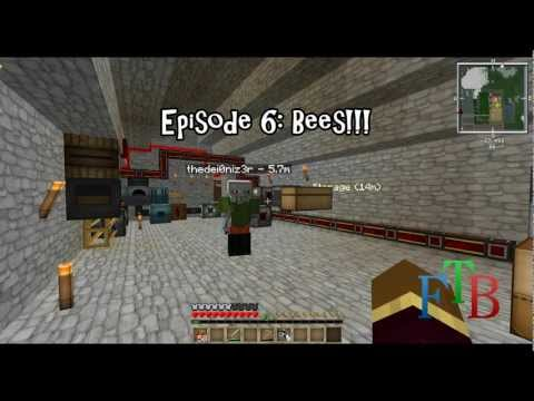 Feed The Beast Ultimate Episode 6: Bees!!! (Feat. thedei0niz3r) (Let's Play)