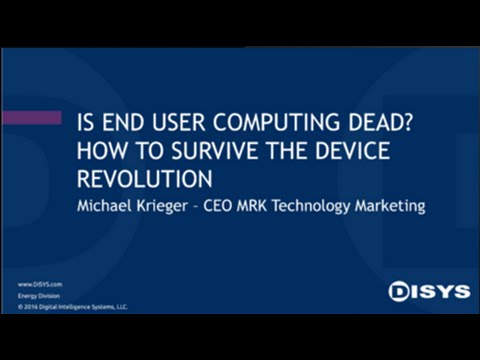 Is End User Computing Dead? How to Survive the Device Revolution