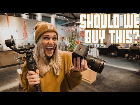 should-we-buy-this?-|-massive-camera-christmas-sales-|-snowy-engagement-shoot