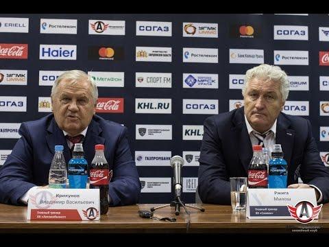 """Пресс-конференция: """"Автомобилист"""" - """"Слован"""""""