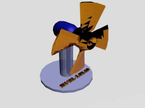 3ds max animation - electric fan reactor