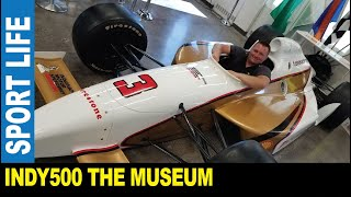Indianapolis 500 [Part 2] The museum many racing cars Indycar F1 NASCAR drag by Jarek Indiana USA