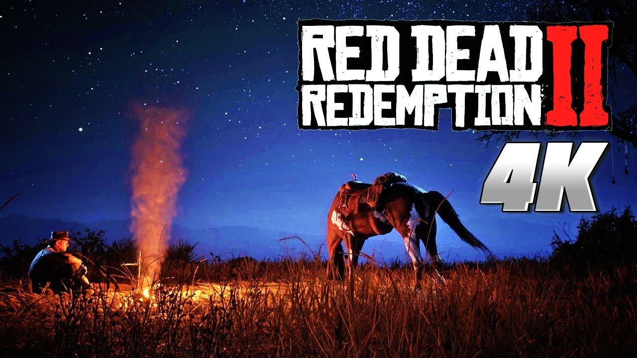 Red Dead Redemption 2 4k Pc Environmental Showcase Trailer