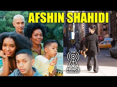 Afshin Shahidi talks about his book Prince: A Private View Interview | Prince Podcast