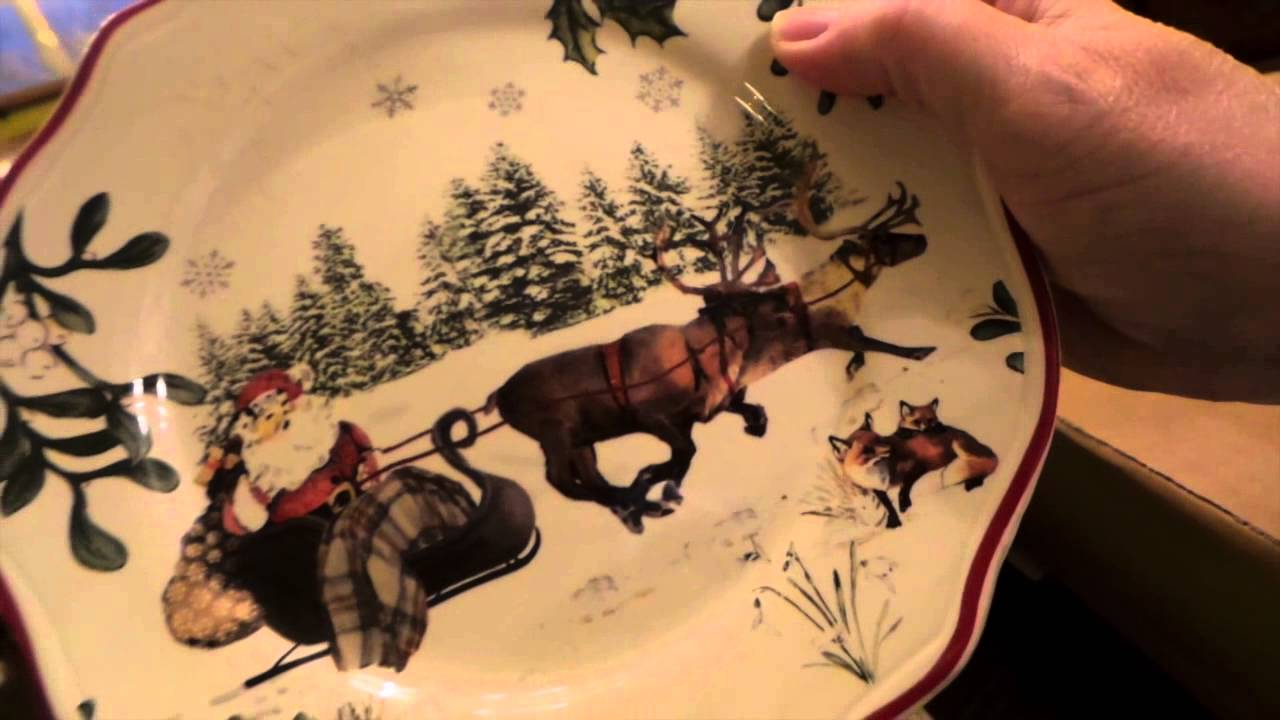Heritage Woodland Christmas Dishes from Wal-Mart & Better Homes ...