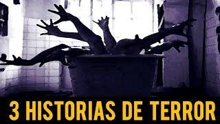 3 HISTORIAS DE TERROR CORTAS III RELATOS DE HORROR