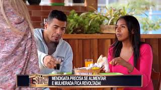 Brazilian prank - Beggar asks for food.