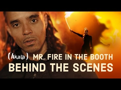 Akala | Mr Fire In The Booth [Behind The Scenes]