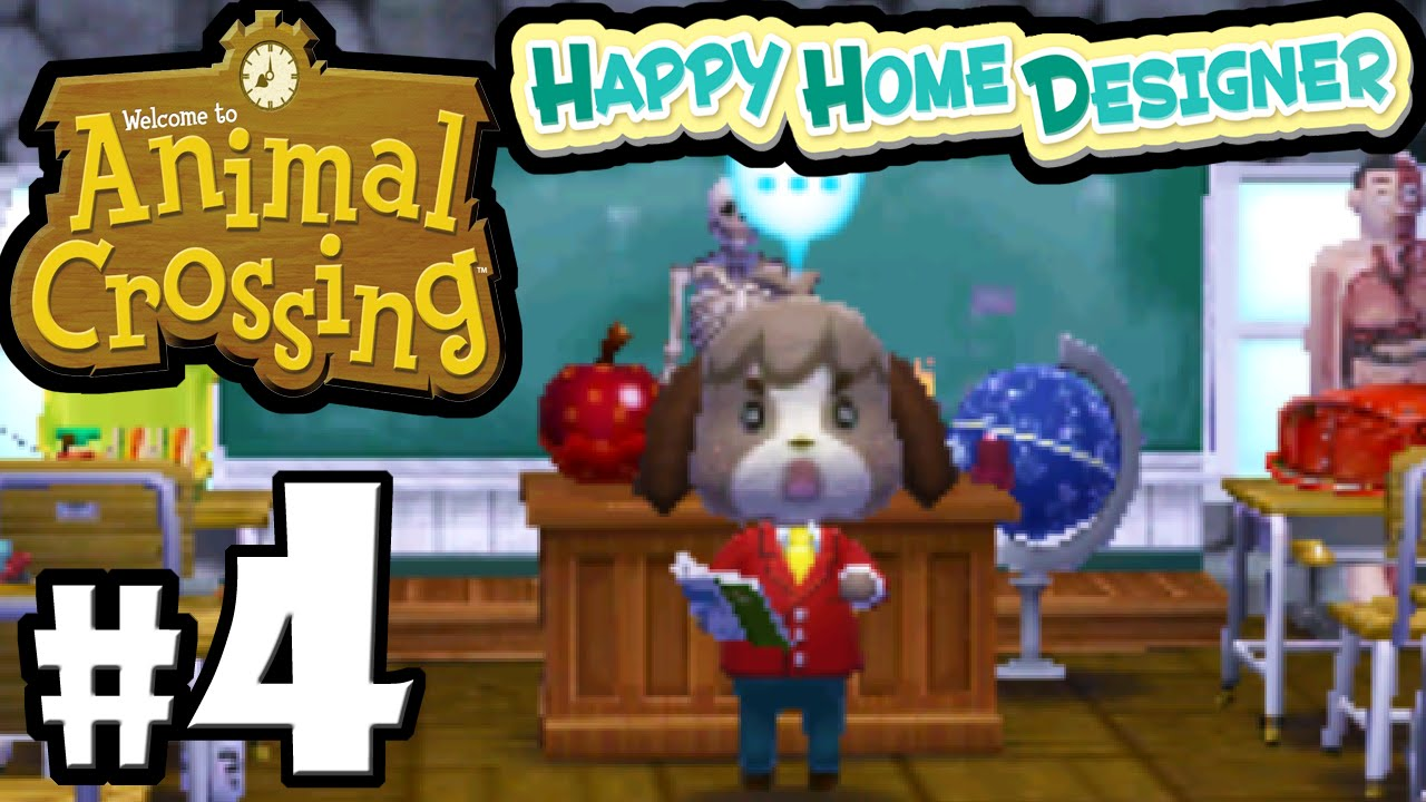 Animal Crossing Happy Home Designer PART 4 Gameplay Walkthrough ...