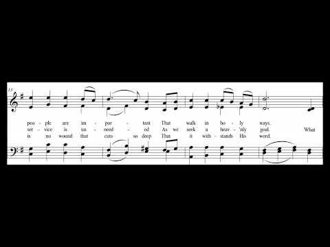 Act Well Thy Part - an original hymn