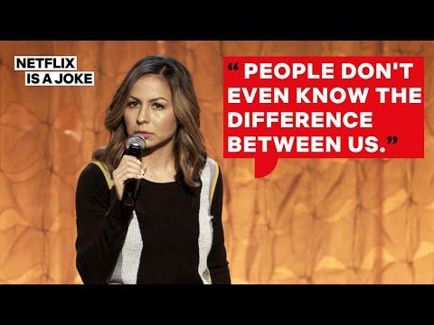 Anjelah Johnson and Her Husband Argue Latino Culture Rankings   Netflix Is A Joke