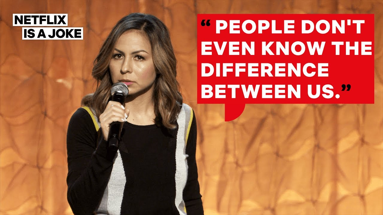 Anjelah Johnson and Her Husband Argue Latino Culture Rankings | Netflix Is A Joke