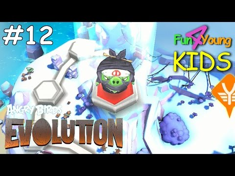 ANGRY BIRDS Evolution // #12 CHAPTER 10 - The IRATE CAPADES - NINJAS