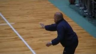 コーチ対決! Coach showdown.
