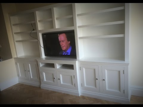 How To Build Tv Wall Cabinets