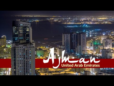 Ajman. United Arab Emirates Timelapse/Hyperlapse