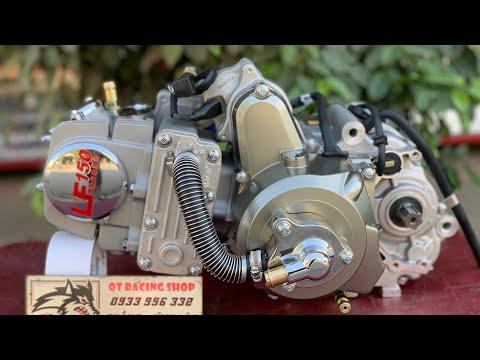➡️ Máy Wave 150cc - Lòng Nước - Làm mát bằng nước - Piston Trái 55 - Dên Lớn - Lòng Dài 82mm