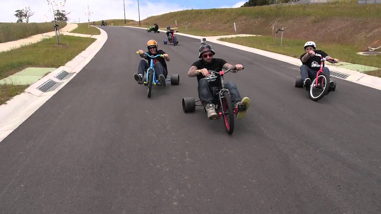 Power Wheels For Big Kids >> Drift Trike - triad lifestyle video - YouTube