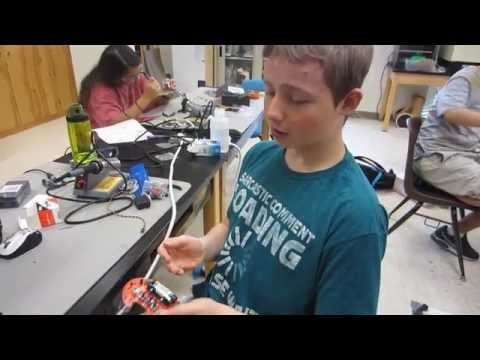 Garett's Starter Project (Light Crawling Bug) - 2014 Houston BSE
