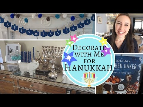HANUKKAH Decorating & Target Holiday Haul