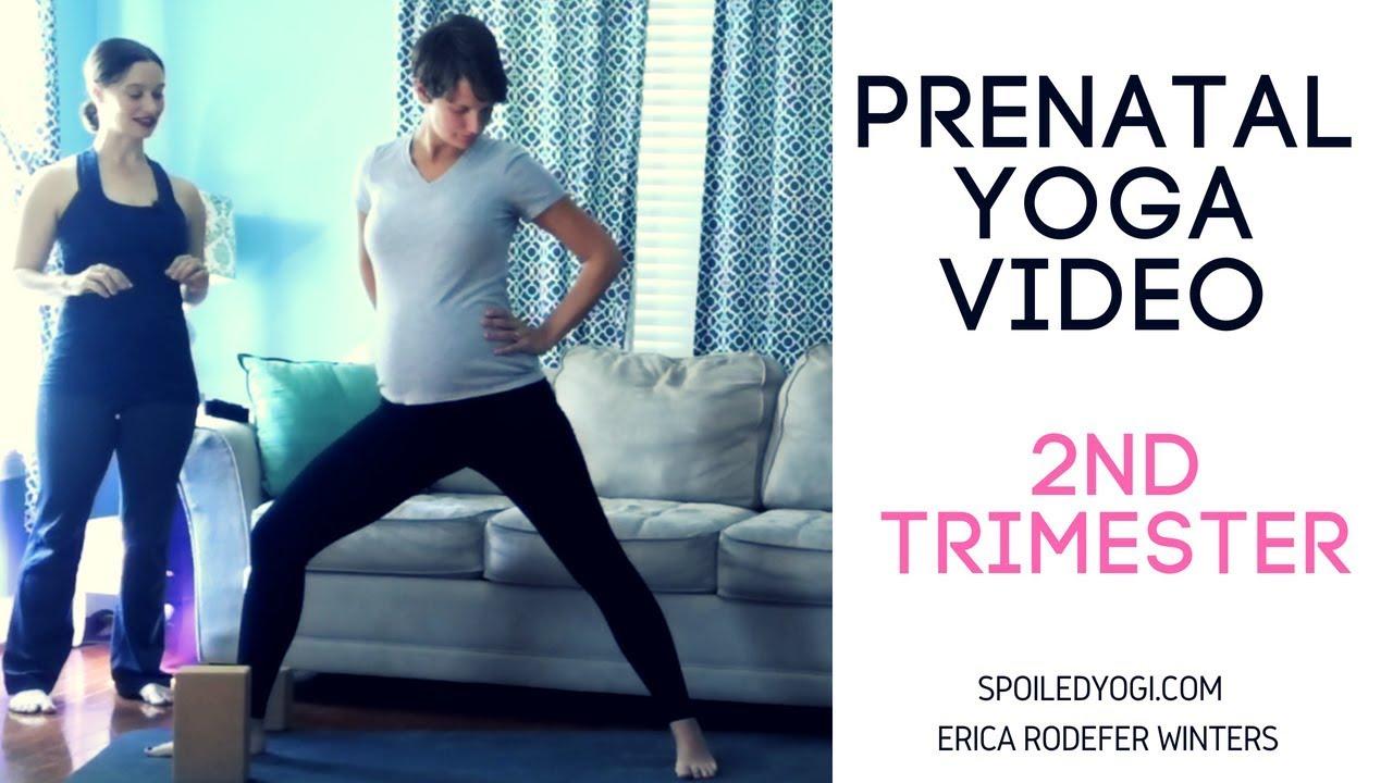 Prenatal Yoga Yoga For Second Trimester Pregnancy Yoga Yoga During Pregnancy Youtube