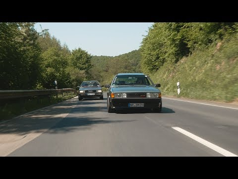 Scirocco GTX 16V and Audi 80 Coupe on the road | EmTy