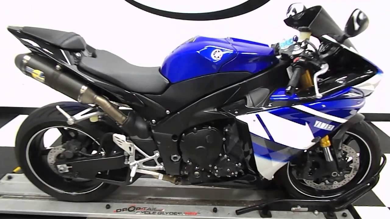 yamaha r1 blue bike - photo #16