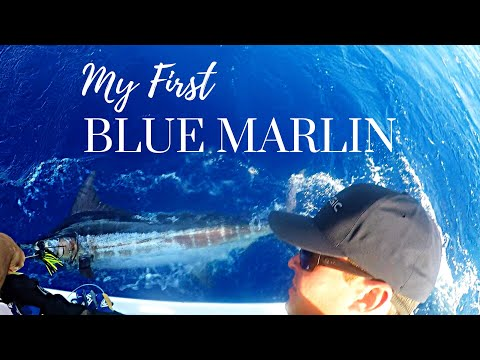 My FIRST Blue MARLIN!! Fishing In The BAHAMAS