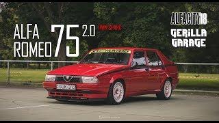 Gerilla Garage bemutató | Alfa Romeo 75 2.0 TS
