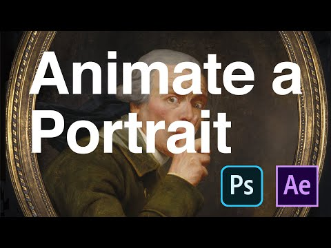 Animate A Portrait With After Effects And Photoshop