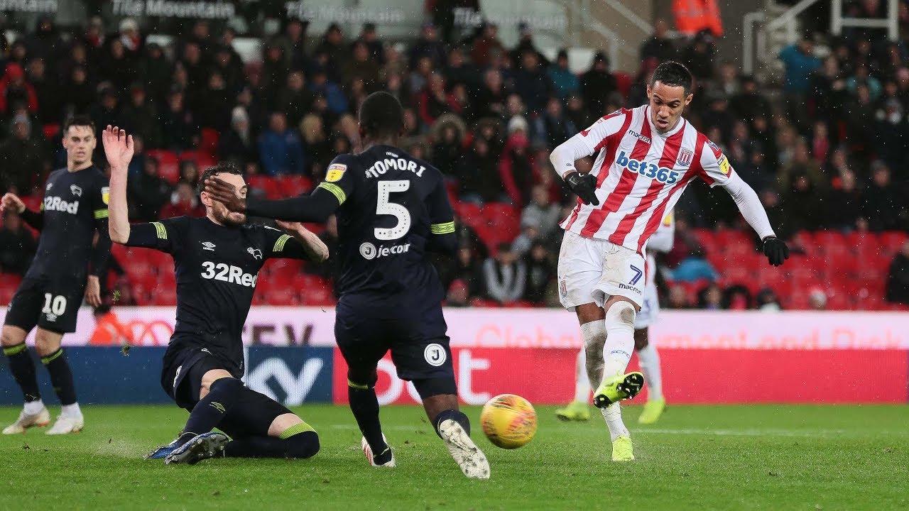 4db22dd1844ad Highlights: Stoke City v Derby County - YouTube