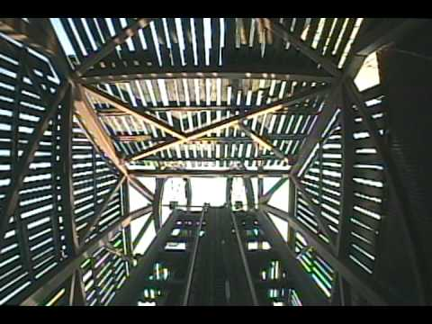 Mystery Mine Roller Coaster Front Seat POV Dollywood