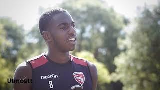 Adeyinka GIWA of Morecambe FC