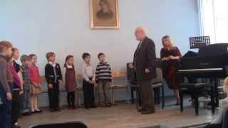 Г.И.Шатковский. Открытый урок с детьми. 1 часть