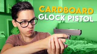 How to make a Cardboard Gun (Glock) - DIY