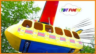 Amusement Park for Kids Family Fun Outdoor Theme Park Fun Kids Rides