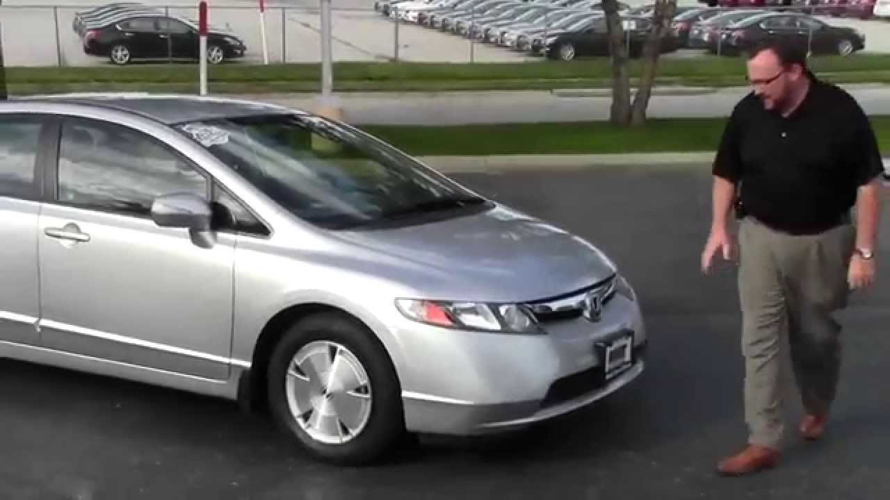 Elegant Used 2007 Honda Civic Hybrid Navigation For Sale At Honda Cars Of  Bellevue...an Omaha Honda Dealer!