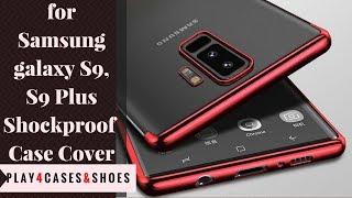 For Samsung Galaxy S9 S9 Plus Luxury Hybrid Slim Soft Case Cover