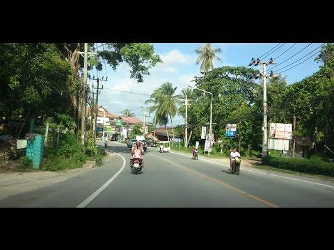 Driving on Koh Samui Thailand HD