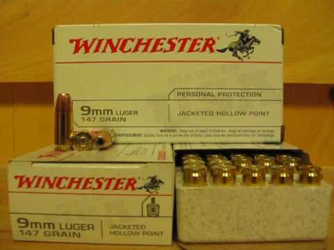 9mm Luger 147 grain JHP Hollow Point - Winchester White Box Ammo at  SGAmmo com