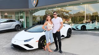 Supercar Shopping with My Girlfriend!