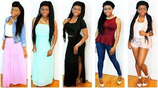 Summer Lookbook (MAXI DRESSES, PEPLUM TOPS, FLOWY SKIRTS &MORE)