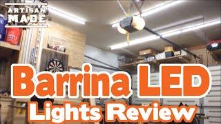 barrina led t8 light review best workshop garage lights for your money